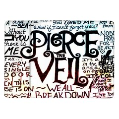Pierce The Veil Galaxy Samsung Galaxy Tab 10 1  P7500 Flip Case