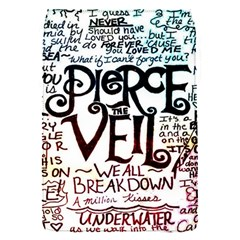 Pierce The Veil Galaxy Flap Covers (s)  by Samandel