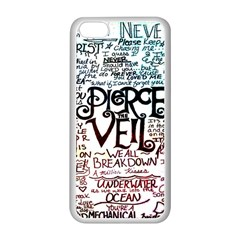 Pierce The Veil Galaxy Apple Iphone 5c Seamless Case (white) by Samandel