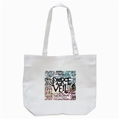 Pierce The Veil Galaxy Tote Bag (white) by Samandel