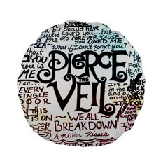 Pierce The Veil Galaxy Standard 15  Premium Flano Round Cushions