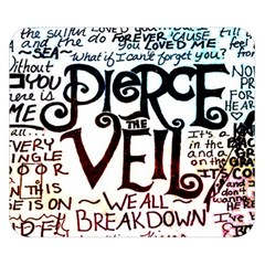 Pierce The Veil Galaxy Double Sided Flano Blanket (small)