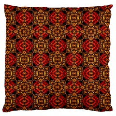 Colorful Ornate Pattern Design Standard Flano Cushion Case (one Side) by dflcprints
