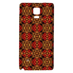 Colorful Ornate Pattern Design Galaxy Note 4 Back Case by dflcprints