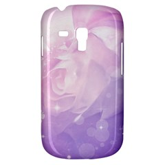Beautiful Rose, Soft Violet Colors Galaxy S3 Mini by FantasyWorld7
