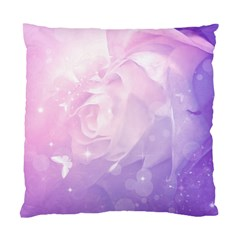 Beautiful Rose, Soft Violet Colors Standard Cushion Case (one Side) by FantasyWorld7