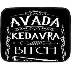 Avada Kedavra Bitch Double Sided Fleece Blanket (mini)