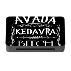 Avada Kedavra Bitch Memory Card Reader With Cf