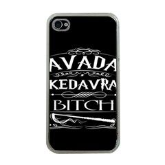 Avada Kedavra Bitch Apple Iphone 4 Case (clear)