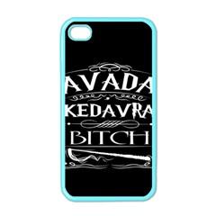 Avada Kedavra Bitch Apple Iphone 4 Case (color)