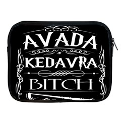 Avada Kedavra Bitch Apple Ipad 2/3/4 Zipper Cases