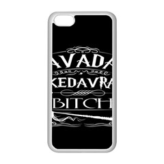 Avada Kedavra Bitch Apple Iphone 5c Seamless Case (white)