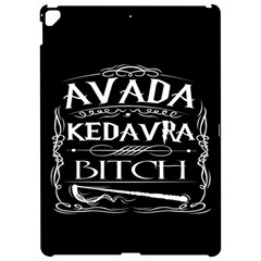 Avada Kedavra Bitch Apple Ipad Pro 12 9   Hardshell Case