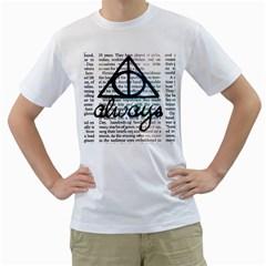 Always Men s T Shirt (white) (two Sided)