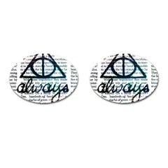 Always Cufflinks (oval)