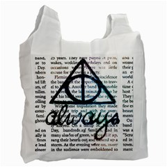 Always Recycle Bag (two Side)