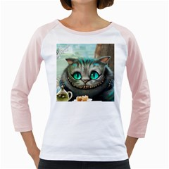 Cheshire Cat Girly Raglans