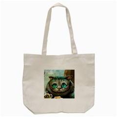 Cheshire Cat Tote Bag (cream)