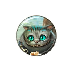 Cheshire Cat Hat Clip Ball Marker (4 Pack)