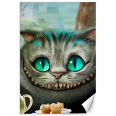 Cheshire Cat Canvas 20  X 30