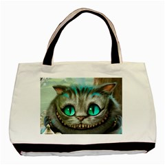 Cheshire Cat Basic Tote Bag (two Sides)