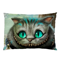 Cheshire Cat Pillow Case (two Sides)