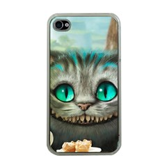 Cheshire Cat Apple Iphone 4 Case (clear)