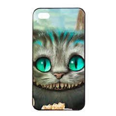 Cheshire Cat Apple Iphone 4/4s Seamless Case (black)