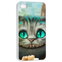 Cheshire Cat Apple Iphone 4/4s Seamless Case (white)