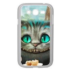 Cheshire Cat Samsung Galaxy Grand Duos I9082 Case (white)