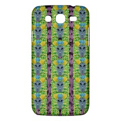 Decorative Summer Girls With Flower Hair Samsung Galaxy Mega 5 8 I9152 Hardshell Case  by pepitasart