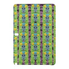 Decorative Summer Girls With Flower Hair Samsung Galaxy Tab Pro 10 1 Hardshell Case by pepitasart