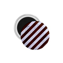 Stripes3 White Marble & Reddish Brown Wood (r) 1 75  Magnets by trendistuff