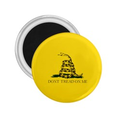 Gadsden Flag Don t Tread On Me 2 25  Magnets by MAGA