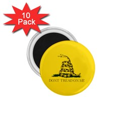 Gadsden Flag Don t Tread On Me 1 75  Magnets (10 Pack)  by MAGA