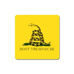 Gadsden Flag Don t Tread On Me Square Magnet by MAGA