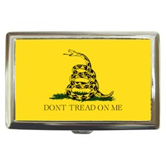 Gadsden Flag Don t Tread On Me Cigarette Money Cases by MAGA