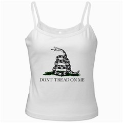 Gadsden Flag Don t Tread On Me Ladies Camisoles by MAGA