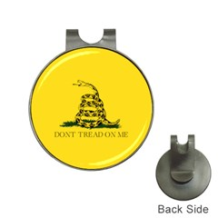 Gadsden Flag Don t Tread On Me Hat Clips With Golf Markers by MAGA
