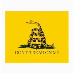 Gadsden Flag Don t Tread On Me Small Glasses Cloth by MAGA