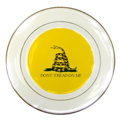 Gadsden Flag Don t Tread On Me Porcelain Plates