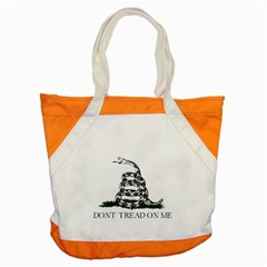 Gadsden Flag Don t Tread On Me Accent Tote Bag