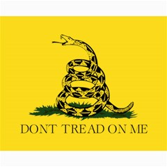 Gadsden Flag Don t Tread On Me Canvas 16  X 20   by MAGA