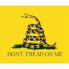 Gadsden Flag Don t Tread On Me Canvas 20  X 24