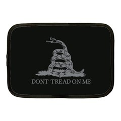Gadsden Flag Don t Tread On Me Netbook Case (medium)  by MAGA