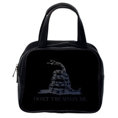 Gadsden Flag Don t Tread On Me Classic Handbags (one Side) by MAGA