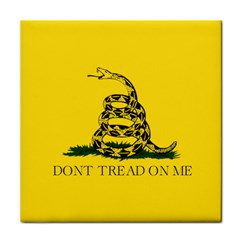 Gadsden Flag Don t Tread On Me Face Towel by MAGA