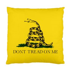 Gadsden Flag Don t Tread On Me Standard Cushion Case (one Side) by MAGA