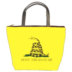 Gadsden Flag Don t Tread On Me Bucket Bags by MAGA