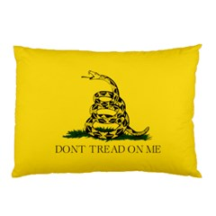 Gadsden Flag Don t Tread On Me Pillow Case by MAGA